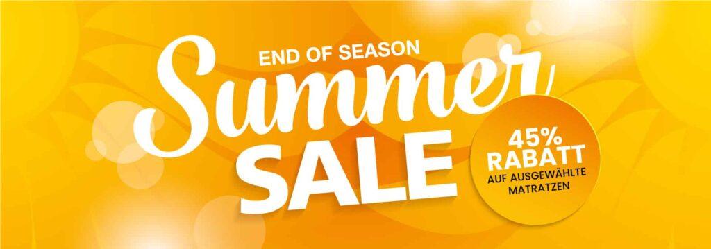 Summer Sale Matratze günstig, Matratze Rabatt, günstige Matratze Schweiz